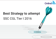 Best Strategy to Attempt SSC CGL Tier 1 2016