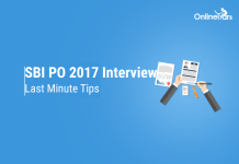 SBI PO 2017 Interview