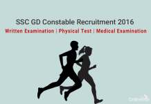 SSC GD Constable Selection Procedure - Written, PE & MT 2016