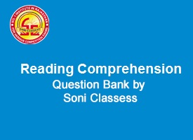 English Comprehension Question Bank