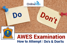 How to Attempt AWES Examination 2016