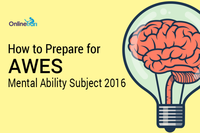 How to Prepare for AWES Mental Ability Subject 2016