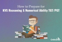 How to Prepare for KVS Reasoning & Numerical Ability TGT/ PGT