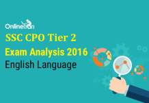 SSC CPO Tier 2 Exam Analysis, English Language Paper (18 December)