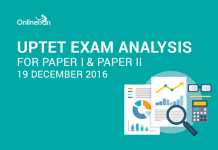UPTET Exam Analysis for Paper I & Paper II: 19 December 2016