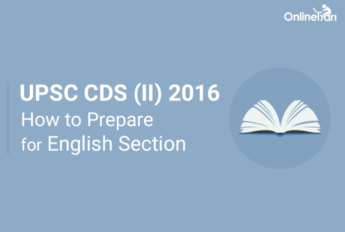 How to Prepare for UPSC CDS English Language 2016