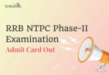 RRB NTPC Admit Card Mains Admit Card