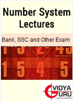 Number system lectures