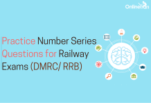 Practice Number Series Questions for Railway Exam ( DMRC, RRB)