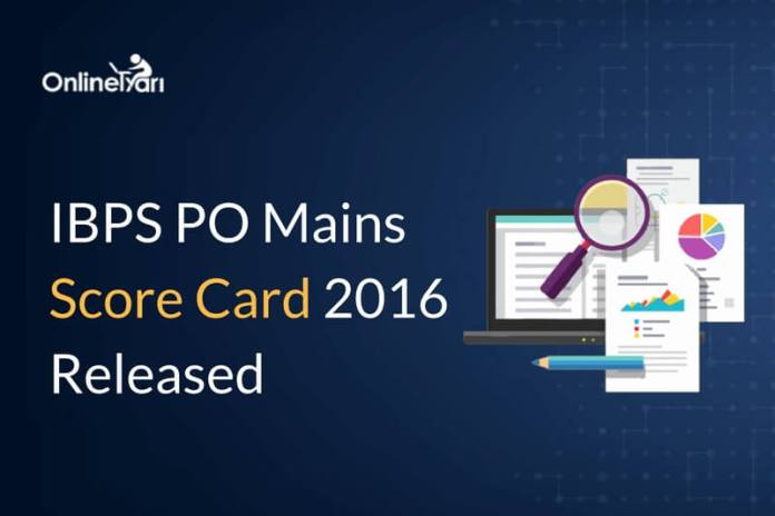 IBPS PO Mains Score Card Out: For Interview Shortlisted Candidates