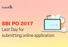 Last Day Reminder for SBI PO Recruitment 2017