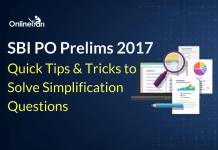 Quick Tips & Tricks to Solve Simplification Questions for SBI PO 2017