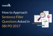 How to Approach Sentence Filler Questions Asked in SBI PO 2017