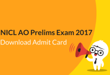 NICL AO Prelims Admit Card 2017 Released: Download Hall Ticket Now