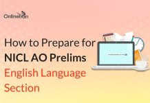 How to Prepare for NICL AO Prelims English Language Section
