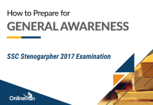 How to Prepare for SSC Stenographer General Awareness Section 2017