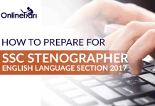 How to Prepare for SSC Stenographer English Language Section 2017