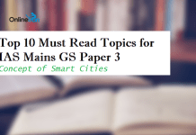 Top 10 Must Read Topics for IAS Mains GS Paper 3 | Concept of Smart Cities