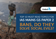 Top 10 Must Read Topics for IAS Mains GS Paper 1 | Bans, Do they Solve Social Evils?