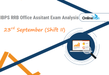 IBPS RRB Assistant Exam Analysis | 23rd September Shift 2