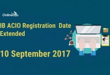 IB ACIO Registration Date Extended – 10 September 2017