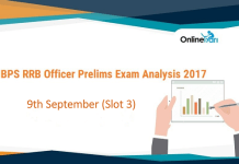 IBPS RRB Officer Prelims Exam Analysis | 9th September Slot 3