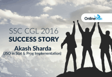 SSC CGL 2016 Success Story: Akash Sharda (JSO in Stat & Prog Implementation)
