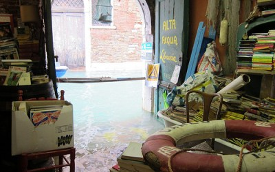 Venice at its finest: The Acqua Alta Bookshop