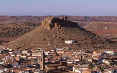 The Castle of the Star in Montiel (Ciudad Real)