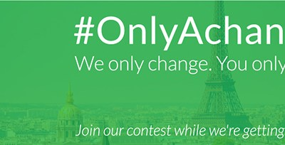 Instagram Contest: Moving forward… #OnlyAChange