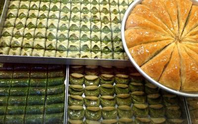 Dulces típicos de Estambul