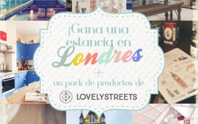 ¡Gana una estancia en Londres + un pack de productos de Lovely Streets!