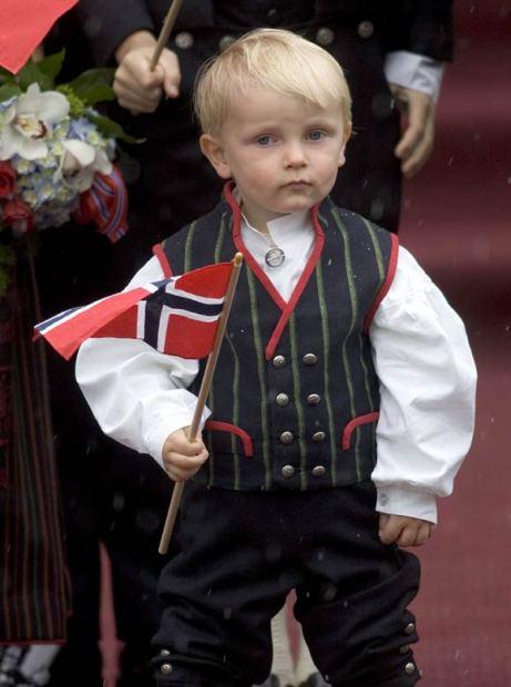 noruego niño