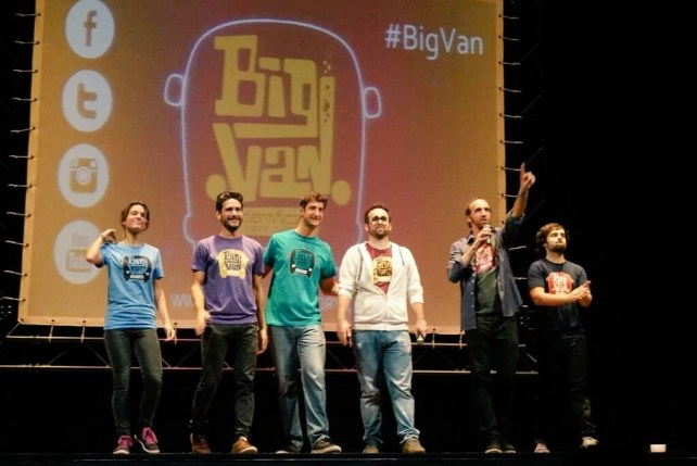 BIG VAN-madrid