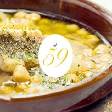 Una suculenta cena en el restaurante Al 59 - en Roma