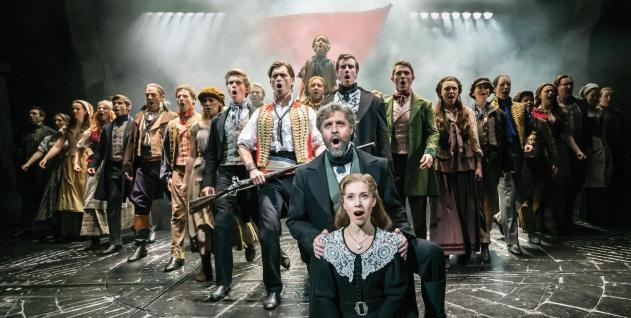 Les miz west end