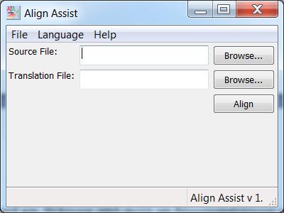 Εικ. 1 Αρχική οθόνη του Align Assist