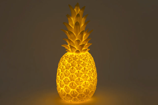 Goodnight Light Pina Colada Lamp