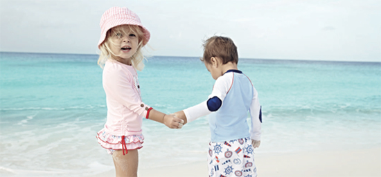 Beach tips for kids and babies