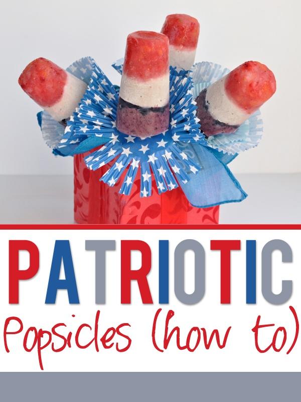 patriotic popiscles