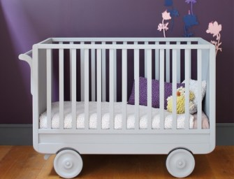 Introducing the award winning Roulotte Crib from Laurette