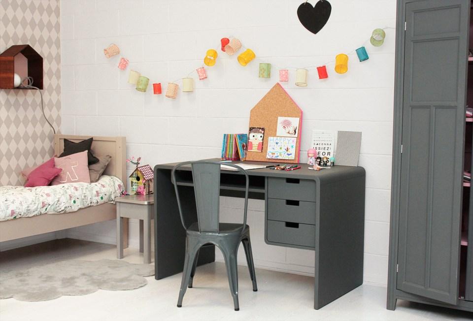 Not Pink Girls Room Ideas