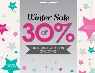 Winter clothing sales have started at Petit Bazaar!