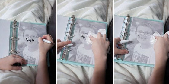 Erase book