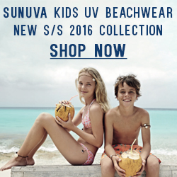 Sunuva Spring Summer 2016 UV Beachwear