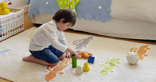 Why rugs are essential to baby nurseries