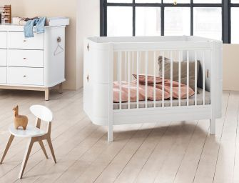 Oliver Furniture Wood Mini+: Transformable Bed for Your Little One from Newborn to 9 Years Old