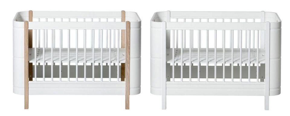 adjustable matress height baby cribs