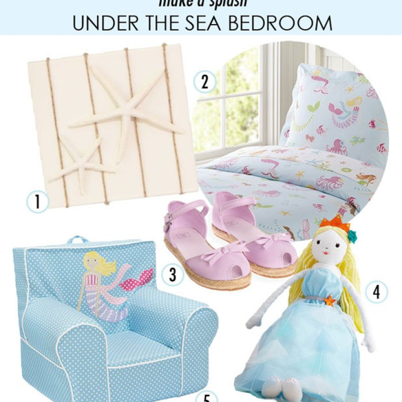your little mermaid an under the sea oasis filled with summer color