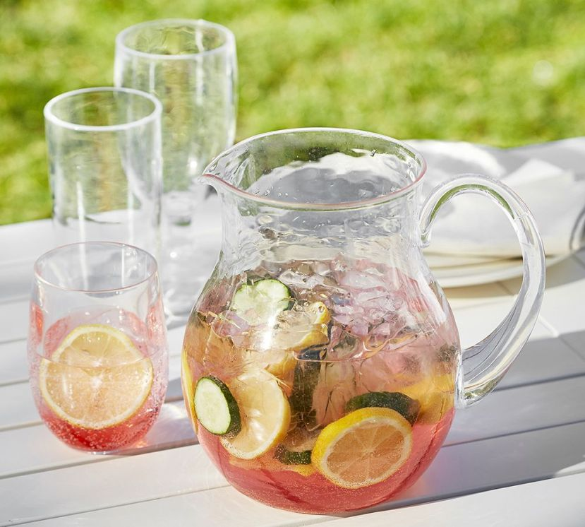 outdoor pitcher